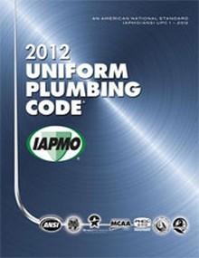 2012 Uniform Plumbing Code Soft Cover