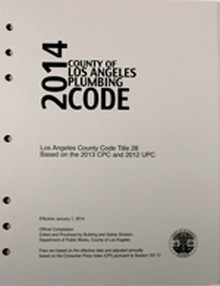 2014 County of Los Angeles Plumbing Code Amendments