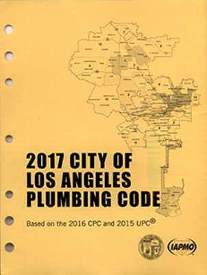 2017 City of Los Angeles Plumbing Code - Amendments Only