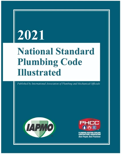 2021 National Standard Plumbing Code Illustrated