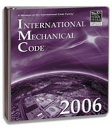 2006 ICC International Mechanical Code (IMC) - Looseleaf