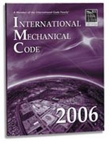 International Mechanical Code (IMC) 2006 Paperback