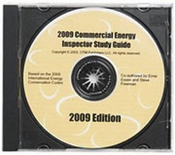 Study Guide for the 2009 International Commercial Energy Inspector Certification - CD-ROM
