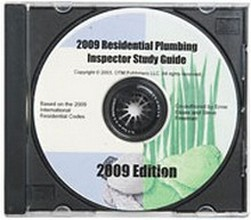 Study Guide for the 2009 International Residential Plumbing Inspector Certification - CD-ROM