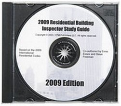 Study Guide for the 2009 International Residential Building Inspector Certification - CD-ROM