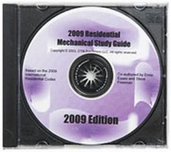 Study Guide for the 2009 International Residential Mechanical Inspector Certification - CD-ROM