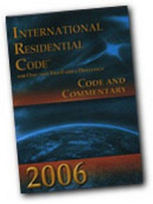 International Residential Code (IRC) Complete Commentary 2006 CD-ROM
