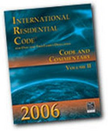 International Residential Code Irc And Commentary 2006