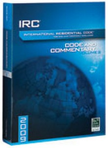 International Residential 2009 Code and Commentary Vol. 2 (Chapters 12-44)