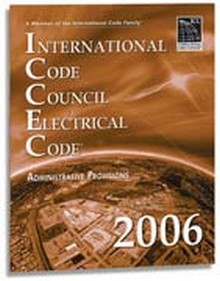 ICC Electrical Code (ICCEC) Administrative Provisions 2006 Paperback