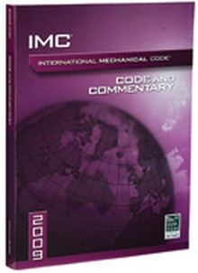 International Mechanical Code (IMC) and Commentary 2009