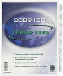 2009 International Building Code (IBC) Turbo Tabs - Looseleaf