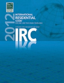 International Residential Code (IRC) 2012 - Paperback