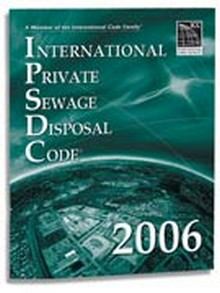 International Private Sewage Disposal Code (IPSDC) 2006 Paperback