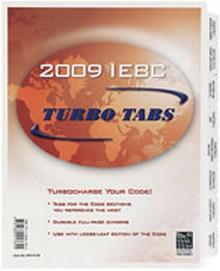 2009 International Existing Building Code (IEBC) Turbo Tabs - Looseleaf
