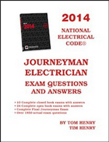 Journeyman Electrician Exam Questions and Answers 2014