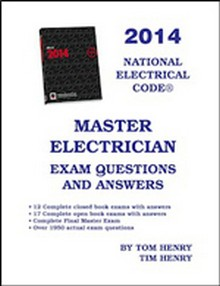 Master Electrician's Exam Questions & Answers 2014
