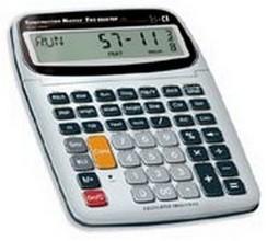 Construction Master Pro Desktop Calculator