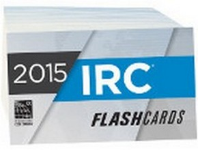 International Residential Code (IRC) Flash Cards 2015