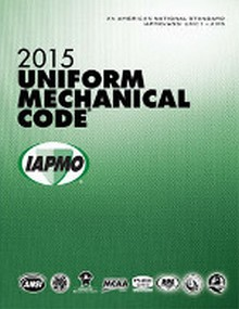 2015 Uniform Mechanical Code Soft Cover