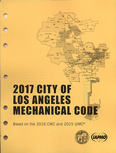 2017 City of Los Angeles Mechanical Code Amendments