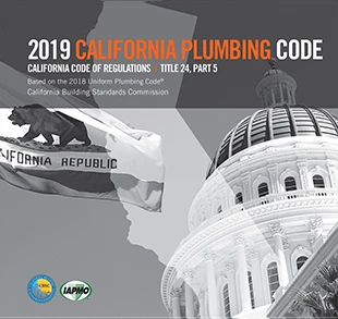 2019 California Plumbing Code, Title 24 Part 5
