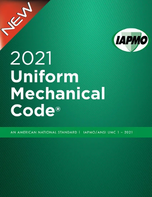 2021 Uniform Mechanical Code Softcover w/tabs