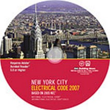 2007 New York City Electrical Code - CD-ROM