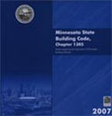 2007 Minnesota State Building Code, Chapter 1305