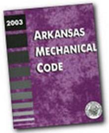 2003 Arkansas Mechanical Code