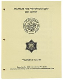 Arkansas Revision Package for Fire, Building and Residential, 2007 Edition