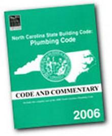 2006 North Carolina Plumbing Code Commentary