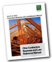 2008 Ohio Contractors Reference Manual