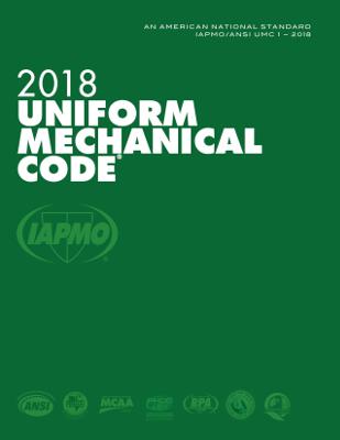 2018 Uniform Mechanical Code Loose Leaf