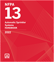 2022 NFPA 13 Automatic Sprinkler Systems HB