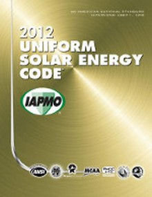 2012 Uniform Solar Energy Code