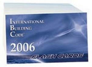 International Building Code (IBC) 2006 Flash Cards
