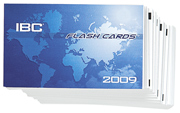 Flash Cards - 2009 International Building Code (IBC)