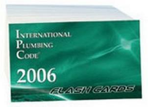 International Plumbing Code (IPC) 2006 Flash Cards