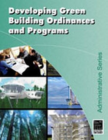 ICC Developing Green Building Ordinances and Programs