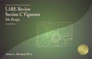 L.A.R.E. Review Section C Vignettes: Site Design (LACV2), 2nd Edition