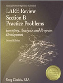 LARE Review Section B Practice Problems: Inventory, Analysis, and Program Development (LABPP2), 2nd Edition
