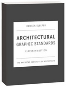 2007 Architectural Graphic Standards (AGS), 11th Edition