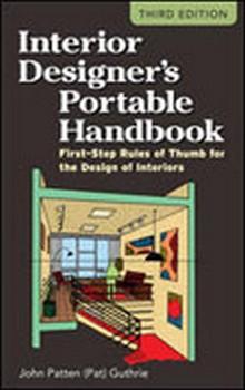Interior Designers Portable Handbook, 3rd Edition