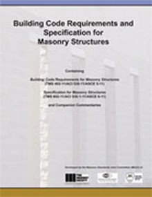 Building Code for Masonry Structures