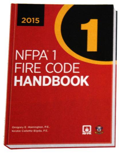 NFPA 1: Fire Code Handbook, 2015 Edition