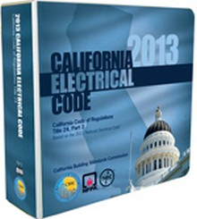 2013 California Electrical Code, Title 24 Part 3