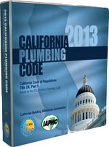 2013 California Plumbing Code, Title 24 Part 5
