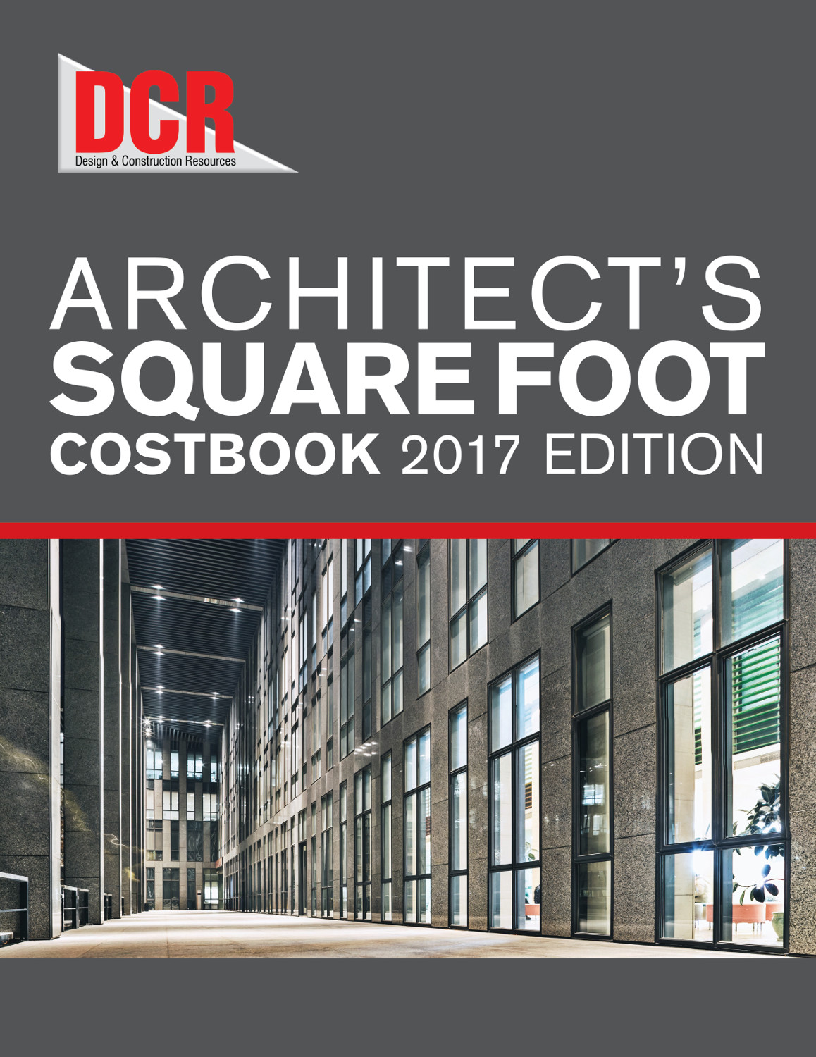 DCR Architect's Square Foot Costbook 2017