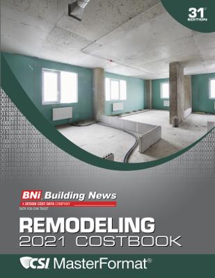 BNI Remodeling Costbook 2021